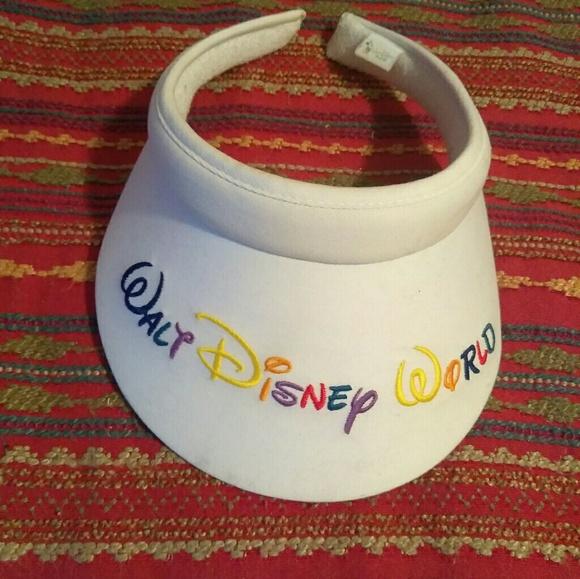 8e68d9e39c9 Disney Accessories - Vintage Walt Disney World rainbow visor 🌈